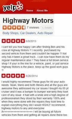 Diesel pickup truck repair shop highway motors chico ca for Highway motors inc chico ca