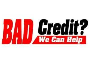 Bad Credit-We Can Help